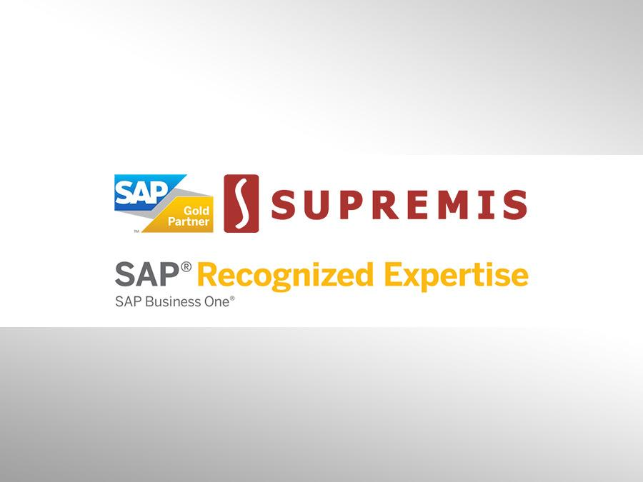 SAP Recognized Expertise dla SUPREMIS